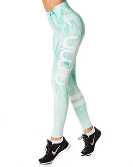 Feather Tights Mint Green