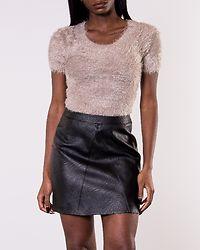 Juliette Furry Sweater Beige