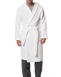 Hooded Robe White