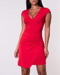 Soprano Wrap Dress Red