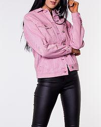 Katrina Denim Loose Jacket Foxglove