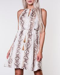 Seraphina Dress Beige/Patterned