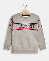 Esprit Sweatshirt Stripe Heather Grey
