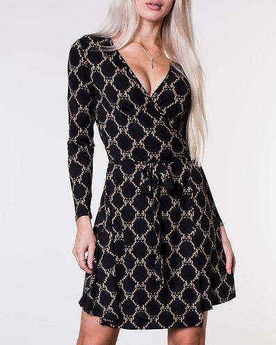 957a1f7d4eb1 Sonnet Mini Wrap Dress Black. XS S M L. Chiara Forthi