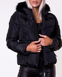 Monica Short Puffer Jacket Black