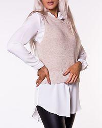 Paris Life Vest Knit Pumice Stone