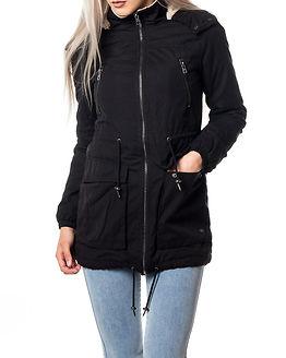 Anna Parka Jacket Black
