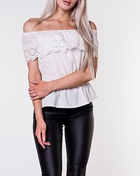 Laguna Dream Offshoulder Top White