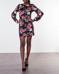 Ellie Dress Black/Patterned