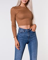 Irma Cropped Top Toasted Coconut