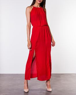 Alice Maxi Slit Dress Red