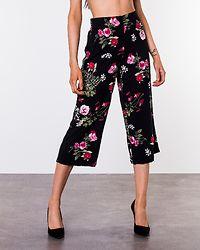 Simply Easy High Waist Culotte Pant Black/Laila
