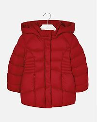 Basic School Jacket Red