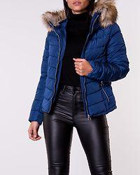 New Ellan Quilted Fur Hood Jacket Blueprint