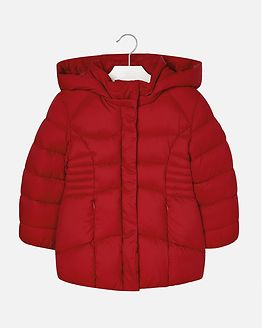 Basic School Jacket Red