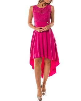 Kimberly Highlow Dress Cerise