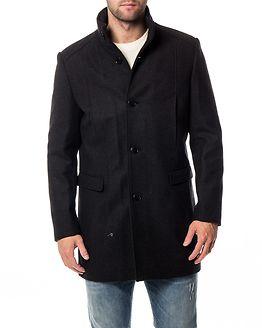 Mosto Wool Coat Dark Grey Melange