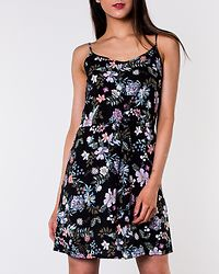Simply Easy Singlet Short Dress Black/Isa