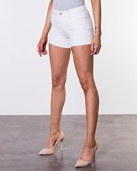 Denim Power Shorts Box White