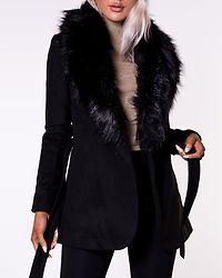 Verona Short Coat Black