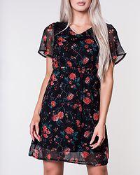 Wonda Short Dress Black/Lavia