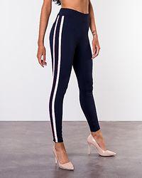 Dina High Waist 7/8 Leggings Navy Blazer/Track In Brandied Apricot
