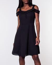 Yaffa Off Shoulder Dress Black