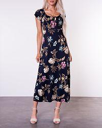 Tessie Maxi Dress Dark Blue/Patterned