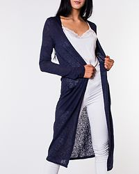 Sumi Long Cardigan Navy Blazer