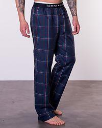 Woven Pant Print True Blue