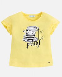 Tea Party T-Shirt Yellow