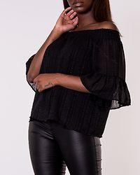 Olivia Off Shoulder Top Black