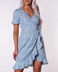 Olivia Wrap Dress Dusk Blue