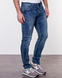 Loom Blue Washed 0897 Blue Denim