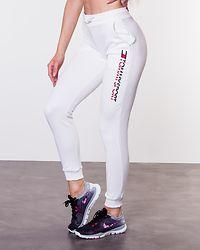 Jogger Vertical Logo White