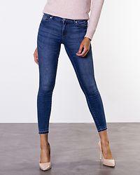Skinny Jamie Ankle Jeans Medium Blue Denim