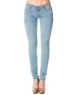 710 Innovation Super Skinny Light Blue Denim