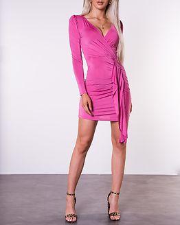 Drape Front Dress Pink