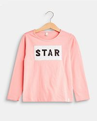 Rock Star Longsleeve Shirt Old Pink