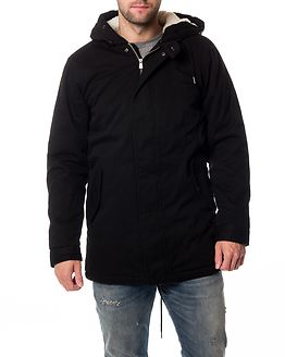 Anza Teddy Parka Black