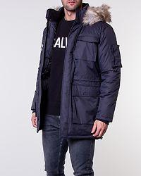 Stephan Parka Jacket Dark Navy