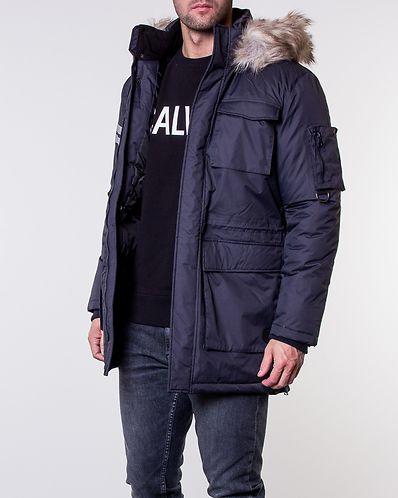 Stephan Parka Jacket Dark Navy 014f08b647