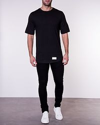Tee Kangaroo Pocket Black
