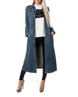 Denim Coat Rugged Blue