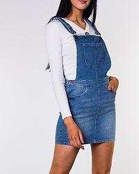 Iris Dungaree Studdress Medium Blue Denim