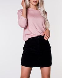 Brianna Oversize String Blouse Misty Rose/Birch