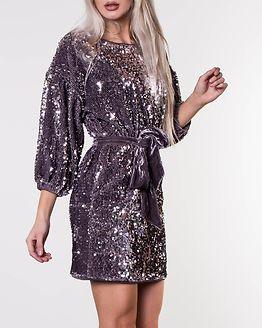 Lettie Sequin Dress Grey