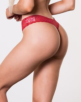 3-Pack Thong Cardinal/Olive Night/Faded Denim