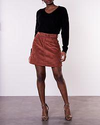 Debbie V-Neck Pullover Black