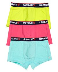 O.L Sport Trunk 3-Pack Mint/Pink/Yellow